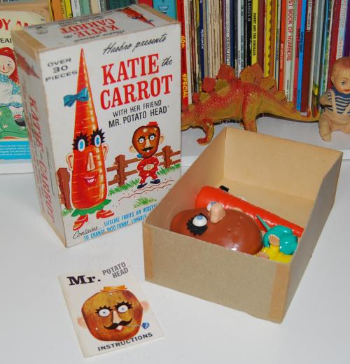 Katie the carrot & mr potatohead x