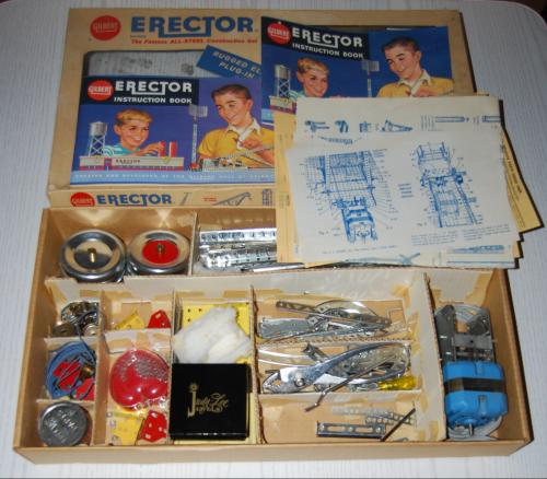 Vintage erector set 1