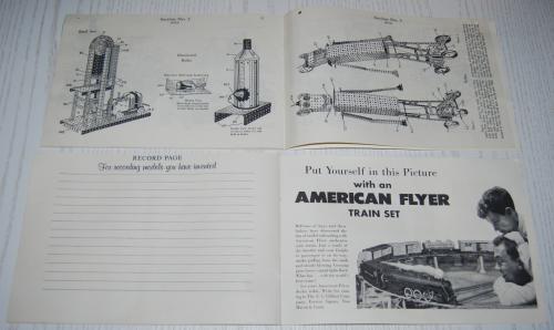 Vintage erector set booklet 4