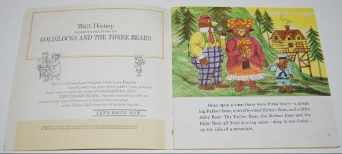 Disney goldilocks vinyl record 1