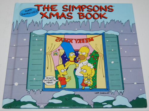 Simpsons xmas book