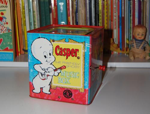 Casper music box mattel