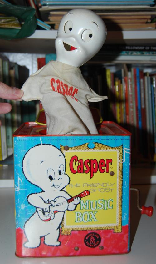 Casper music box mattel 5