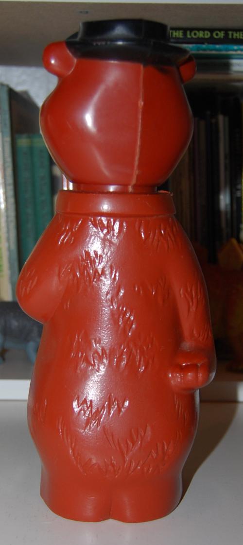 Vintage toy yogi bear bank 2