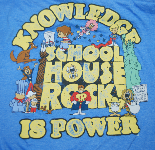 Schoolhouse rocks tshirt