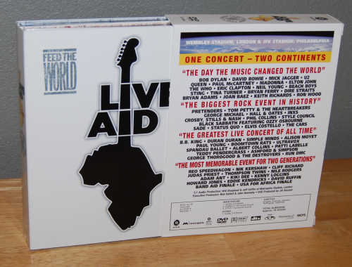 Liveaid dvds