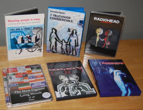 Radiohead dvds