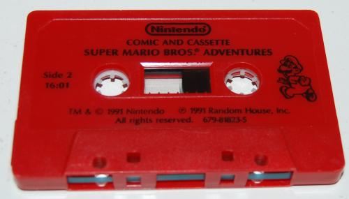 Cassettes super mario bros x