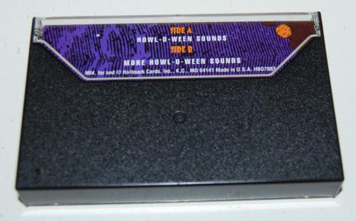 Cassettes hallmark howloween x
