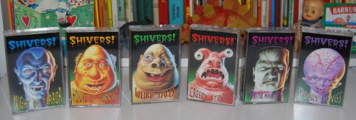 Cassettes halloween