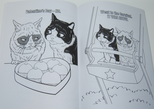 Grumpy cat coloring book 3