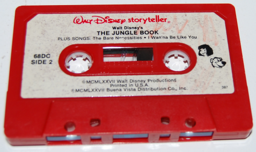 Cassettes disney 3