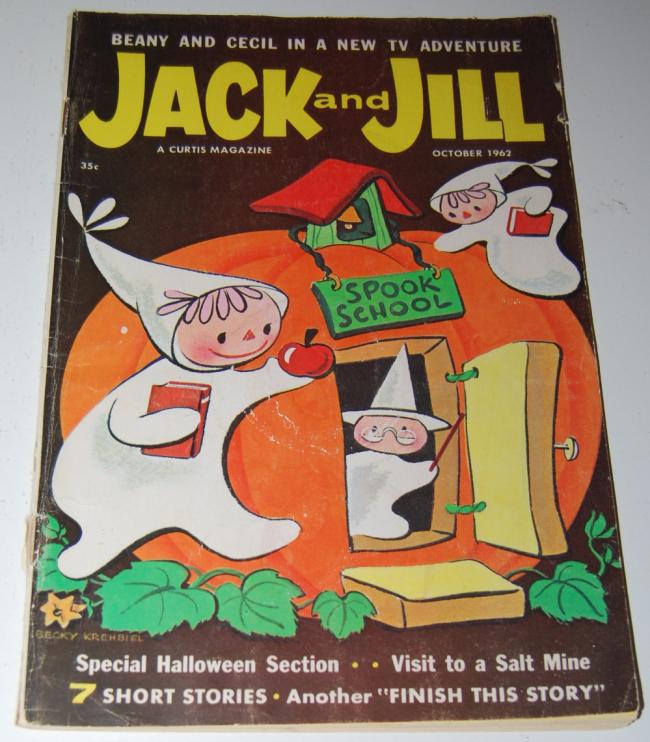 jack & jill magazine ~ october 1962