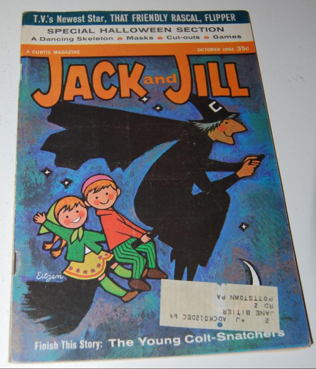 jack & jill magazine ~ october 1964