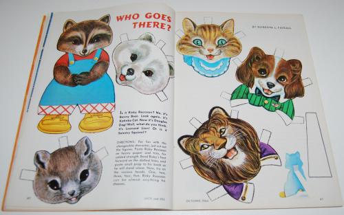 Jack & jill magazine october 1964 15