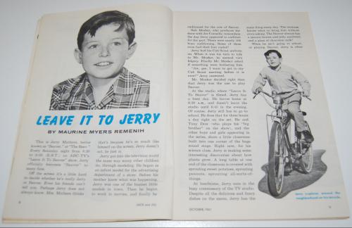 Jack & jill magazine october 1961 5