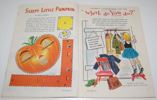 Jack & jill magazine october 1961 4