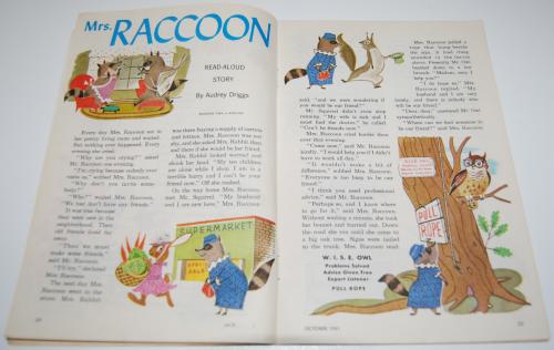 Jack & jill magazine october 1961 8