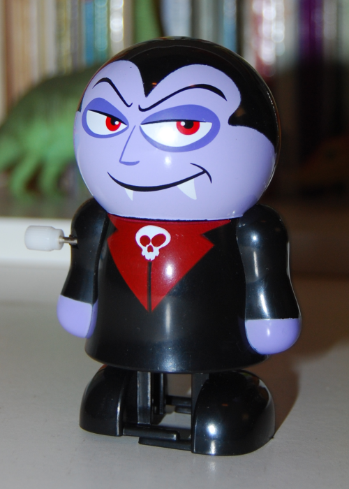 Vampire windup toy