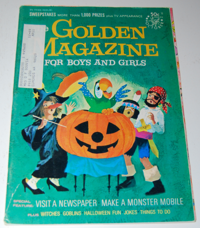 golden magazine ~ october 1969