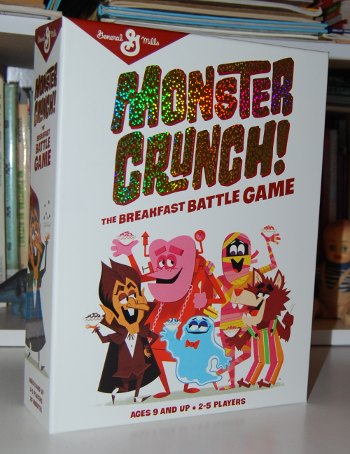 Monster crunch game