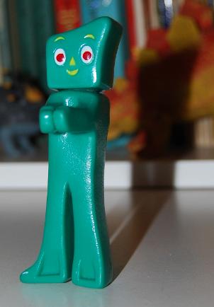 Gumby clip x