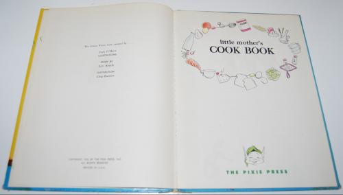 Little mother's cookbook2