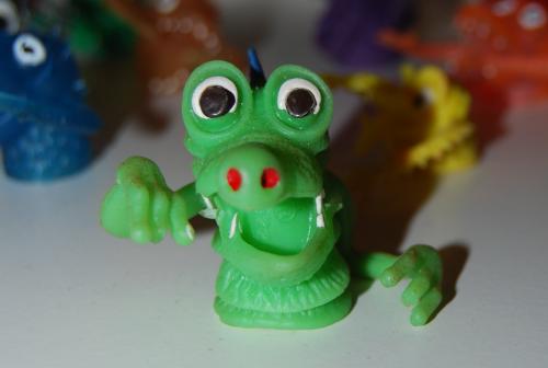 Finger puppet monsters 1