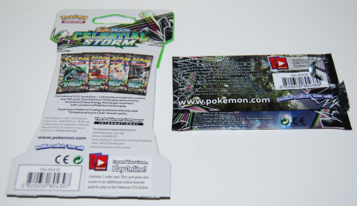Pokemon sun & moon celestial storm cards