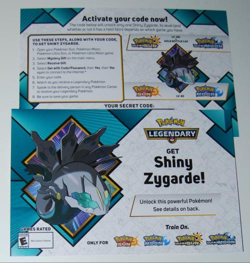 Shiny zygard