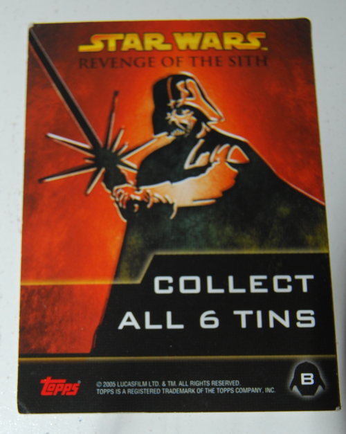 Star wars collector cards topps 1x