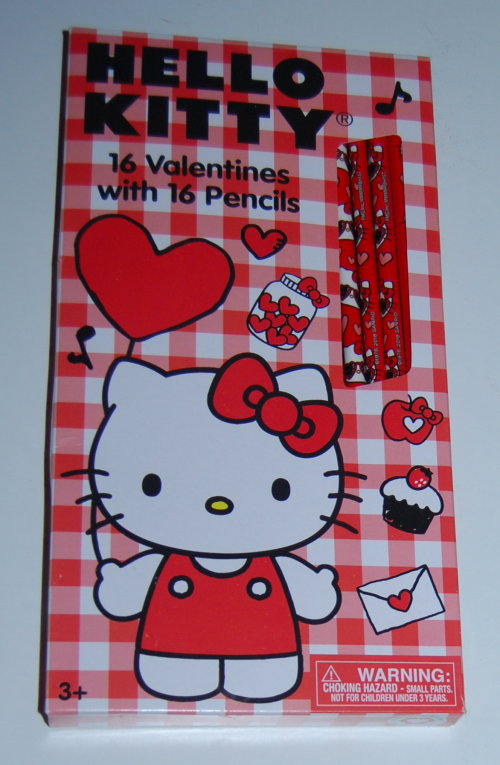 Hello kitty valentines