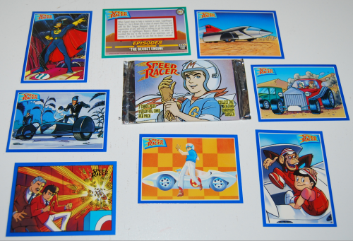 Speed racer cards