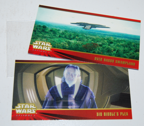 Star wars movie cards