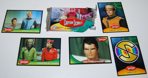 Captain scarlet cards