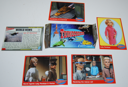 Thunderbirds cards
