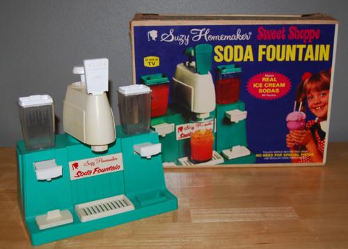 Suzy homemaker soda fountain toy