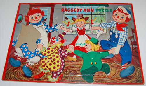 Raggedy ann puzzle
