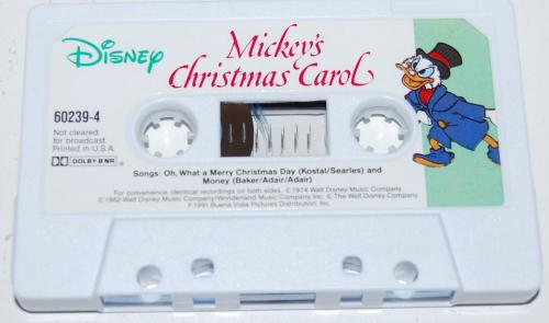 Cassettes disney 8