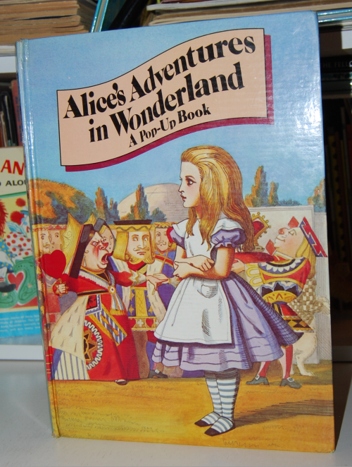 Alice popup book