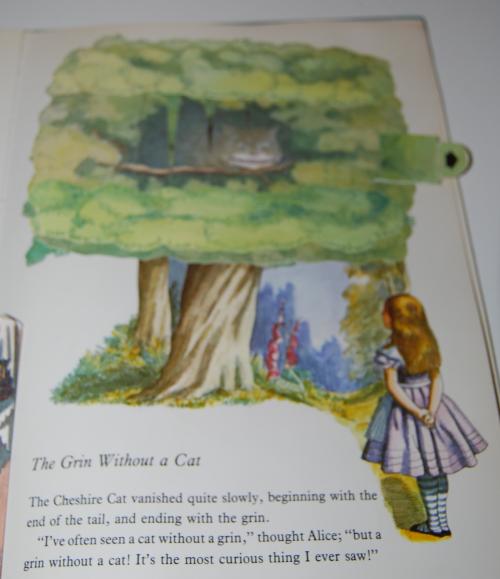 Alice popup book 7