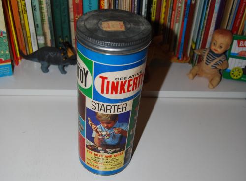 Vintage tinker toy starter set