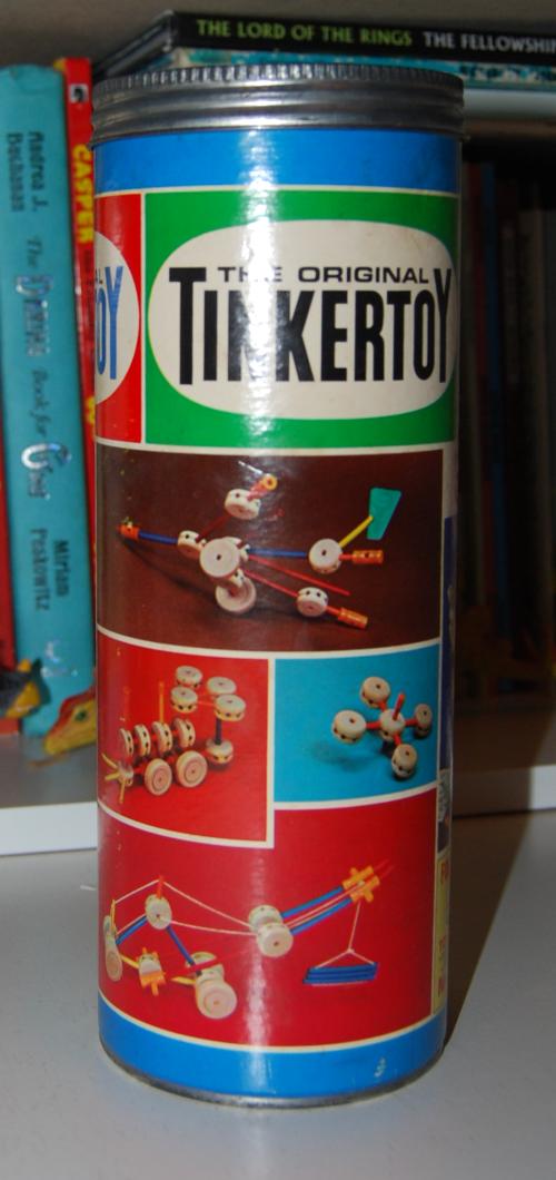 Vintage tinker toy starter set 2