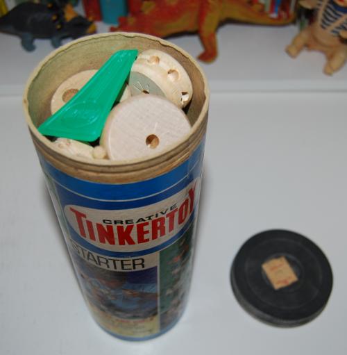 Vintage tinker toy starter set 5