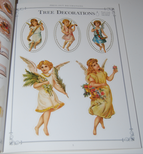 Victorian christmas pressout book 2