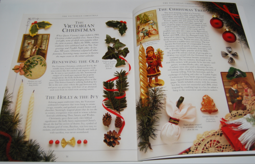 Victorian christmas pressout book 7