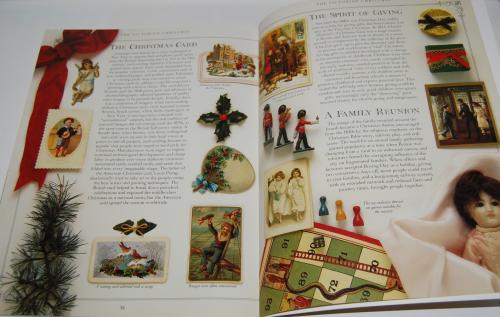 Victorian christmas pressout book 8