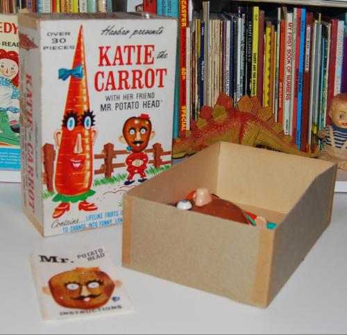 Katie the carrot & mr potatohead