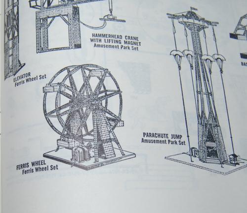 Vintage erector set booklet 6