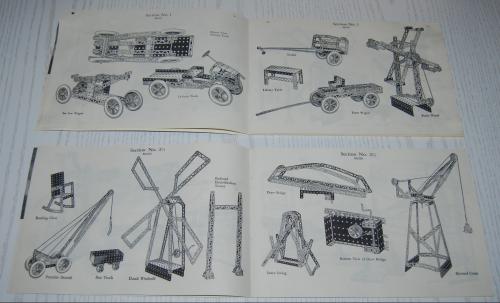 Vintage erector set booklet 2